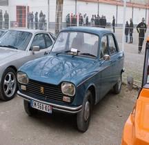 Peugeot 204 Berline Modèle 1972 Nimes 2018