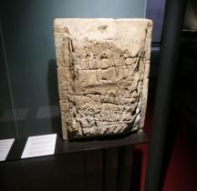 Pouvoir Epigraphie Stele Certificat de Conformité pont du Gard