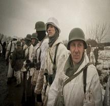 1943-1944 Ostfront Troupes Allemandes Reconstituteurs