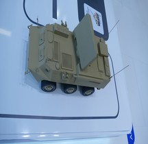 Missile Sol Air Système Yitian Battery Command Vehicle Mkt Eurosatory 2016 Maquette Eurosatory 2016