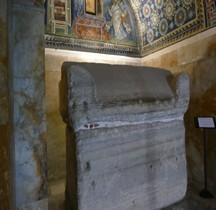Ravenne Mausolée de Galla Placidia Sarcophage Galla Placidia