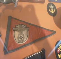1934 NSKK Fanion de Voiture Invalides