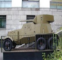 Broneavtomobil 6 BA 6 Moscou
