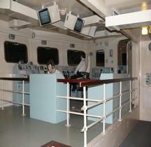 Porte Avions HMS Ark Royal (R09) 1950  Passerelle Majorité Yeovilton