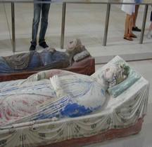 Statuaire Médiévale  Fontevraud Abbaye Gisant d'Isabelle d'Angoulème