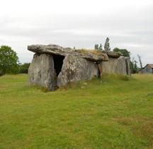 Maine et Loire Gennes Dolmen de la Madeleine