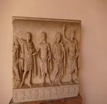 Statuaire Rome Bas Relief Apothéose d'Auguste Ravenne