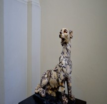 Statuaire Faune Pantera o Leopardo Seduto Naples MAN
