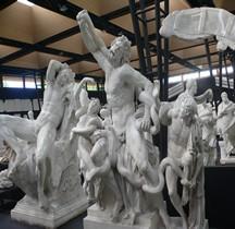 Statuaire Grèce Hellenistique Groupe Laocoon Version Montorsoli Pré 1957 Copie Montpellier