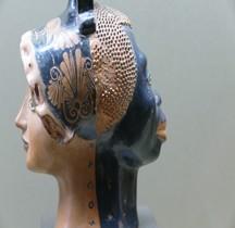 Etrurie Céramique Rhyton Double Face Louvre