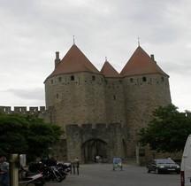 Aude Carcassone Cité Porte Narbonnaise