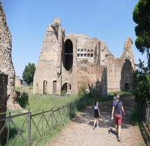 Rome Rione Campitello Palatin  Thermes de Maxence