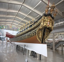 Portugal Barcaza Real María I de Portugal, 1780 Lisbonne