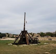 Militaria Poliorcétique Trebuchet à Contrepoids Les Baux de Provence