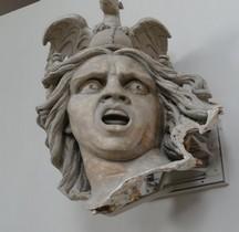 Statuaire.XIXe Départ des Volontaires Paris Tête Détail