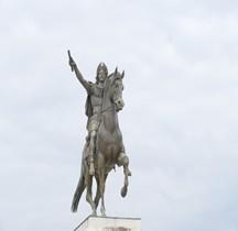 Hérault Montpellier Place Royale Peyrou Statue Equestre Louis XIV