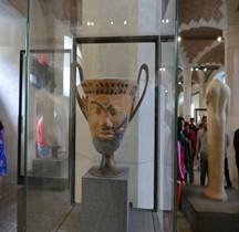 Etrurie Céramique Canthare  Paris Louvre