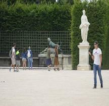 Yvelines Versailles Chateau Jardins Fontaine Cabinet du Point du Jour