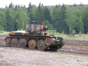 Panzerkampfwagen 38(t) Kubinka