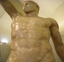 Statuaire Grèce Copie Rome Tyrannoctones Naples