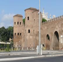 Rome Mura del URBS Rome Mura Aureliane Rione Monti  Esquilin  Porta Asinaria