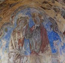 Haute Loire Puy-en-Velay  Cathédrale Notre-Dame-de-l'Annonciation  Transept  Christ