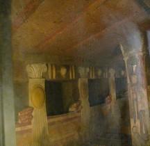 Etrusques Nécropole Cerveteri Necropole della Banditaccia Tomba dei Rilievi