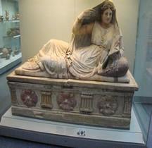 Etrusques Sarcofagio di Seianti Hanunia Tlesnasa Chuisi Londre BM