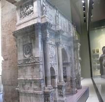 Rome Rione Celio Arc de Triomphe de Constantin Maquette EUR