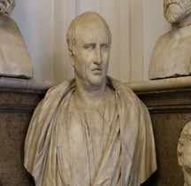 Statuaire Personnage Cicéron Rome Museii Capitolini