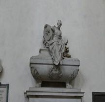 Florence Basilica di Santa Croce Interieur Tombe de Machiavel