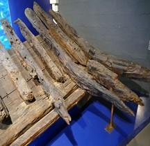 3-1 Rome Marine Commerce Galère dite de César Marseille Musée Docks Romains