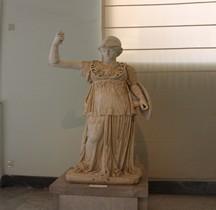 Statuaire Rome Minerve Naples