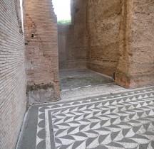 Rome Rione San Saba Thermes de Caracalla Vestiaire Apodetyrium