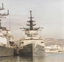 Frégate FF-1081 USS Aylwin Marseille 1990