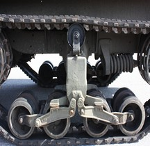 Half track Detail Train de Roulement