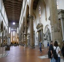 Florence Basilica di Santa Croce Interieur