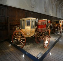 1810 Berline à 3 Glaces Cornaline Versailles Grandes Ecuries Musée des Carrosses