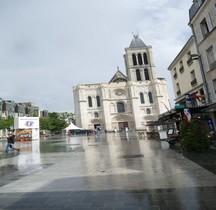 Seine St Denis .St Denis Basilique Exterieur