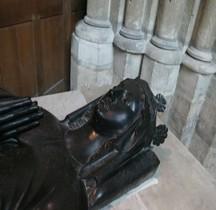 Seine St Denis St Denis Basilique 3-09.4 Marie de Brienne Gisant