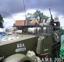 Half Track M16 Multiple Gun Motor Carriage Beltring 2007