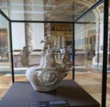 Grande Grèce Tarente Céramique  Askos Globulaire  Louvre
