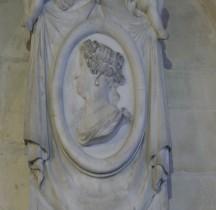 Seine St Denis St Denis Basilique 6.3.2 Marie Thérèse  Plaque Funéraire