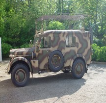 Horch 901 Funkwagen Kfz 17 -radio FU 11 SE 100