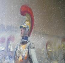 Peinture XIXe Paris Invalides Bataille Winkowu  E Detaille