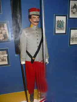 1914 3e RTA Lieutenant Porte Drapeau