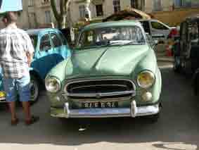 Peugeot 403 Berline 1955 Pignan