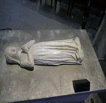 Seine St Denis St Denis Basilique.Blanche d Artois Gisant Supposé Statue
