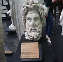 Grèce Hellenistique Zeus Cyrene Copie Montpellier