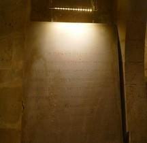 Seine St Denis St Denis Basilique 6.1.2 Marie de Médicis  Plaque Funéraire